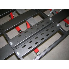 UPRACKS 63-FKRAIL adapterplaten voor voetmontage tussen dwarsprofielen
