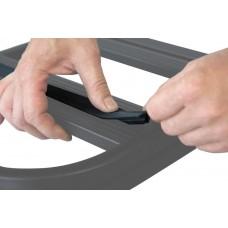 UPRACKS 63-A017 dakdrager T gleuf rubber profiel (lengte richting)
