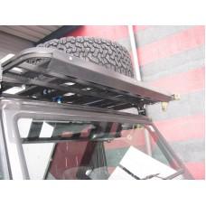 UPRACKS 63-A0093 ABS spoiler voor dakrek-roofrack breed 148 cm.