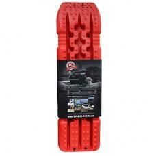 set TRED 1100 4x4 4WD rijplaten - zandplaten rood